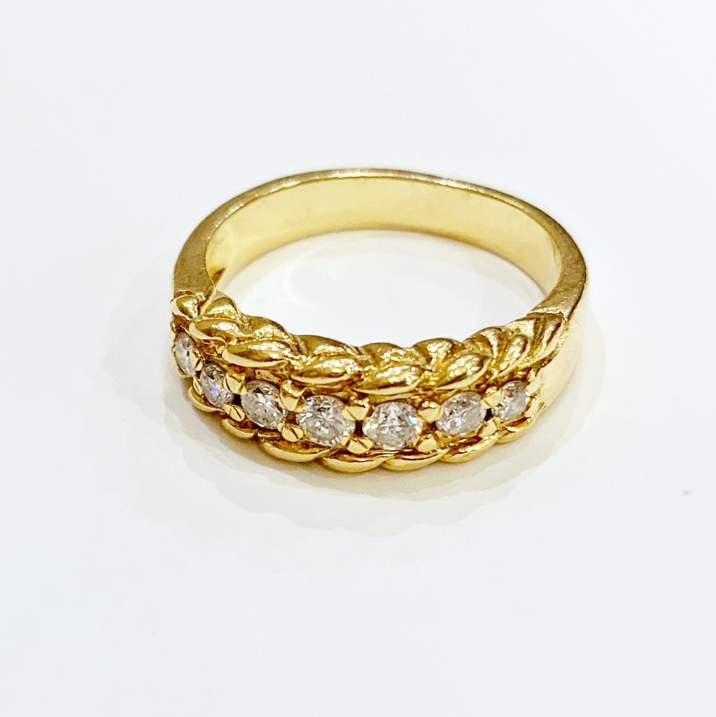 Estate Collection Ring - Diamond Band