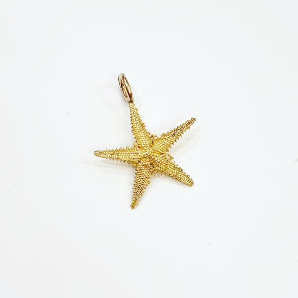 Estate Collection Charms - 14K Yelow Gold Starfish