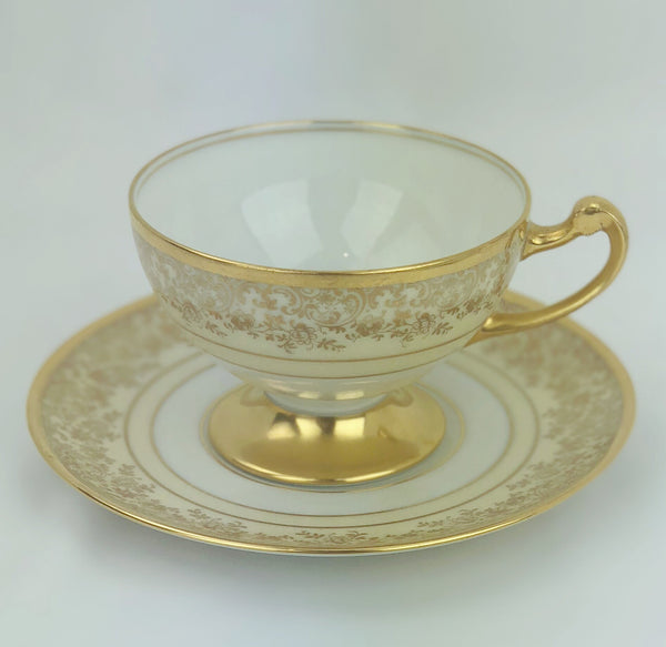 Estate Collection China - Bavarian Cups & Saucers