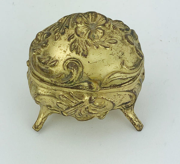 Estate Collection Jewelry Casket - Small Art Nouveau Ring