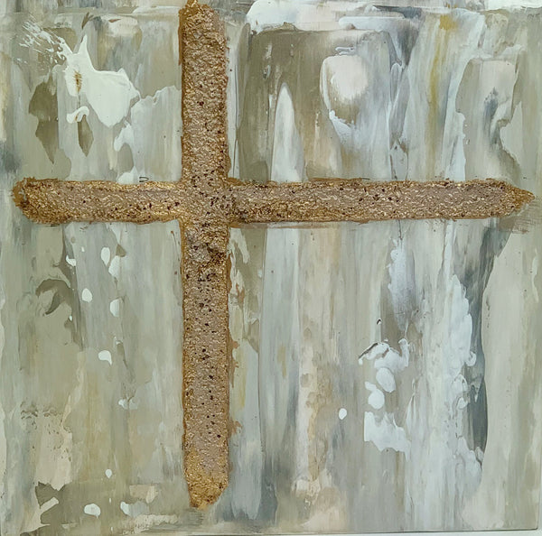"Kim Weathers - Cross 6"" x 6"""