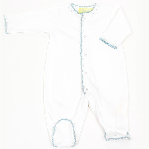 Pima Cotton Jersey Footy Romper