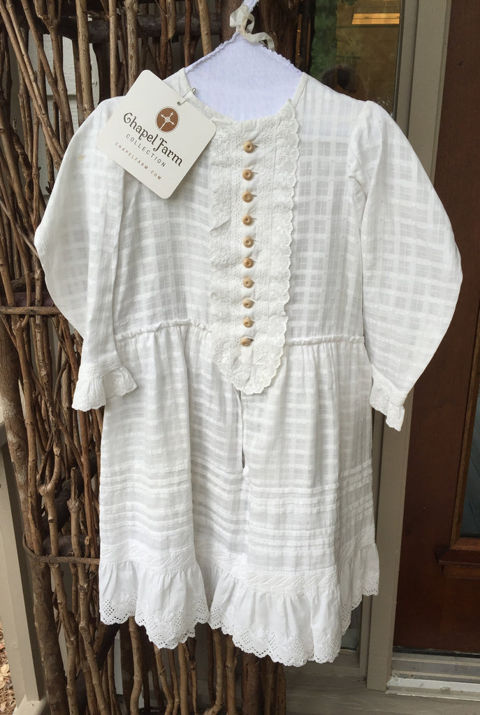 Estate Collection Children's Clothing - Vintage Prairie Dress