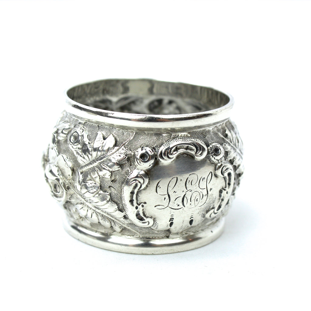Estate Collection Sterling - Napkin Rings Repousse