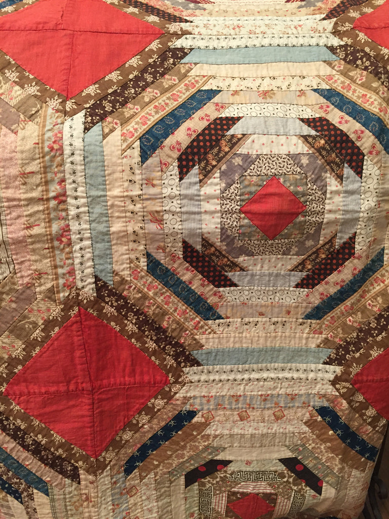 "Estate Collection Quilt - Antique ""See You in Court"""