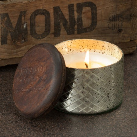 Candle - Diamond Etched Glass