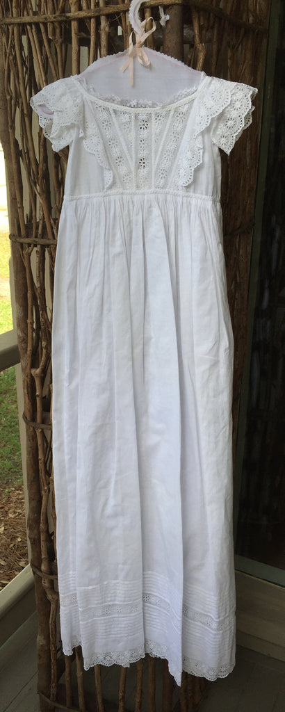 Estate Collection Christening Gown - Victorian
