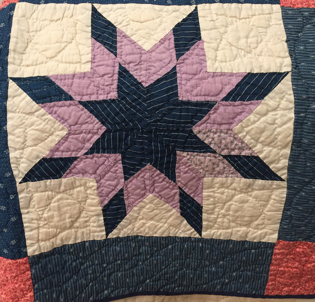 "Estate Collection Quilt - ""Wish Upon A Star"""