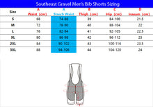Load image into Gallery viewer, Southeast Gravel Men's Bib Shorts
