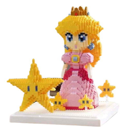 Princess Peach Mini Blocks