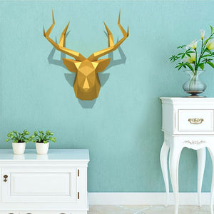 3D Wallpaper - Deer Head