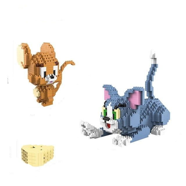 Tom & Jerry Mini Micro Bricks
