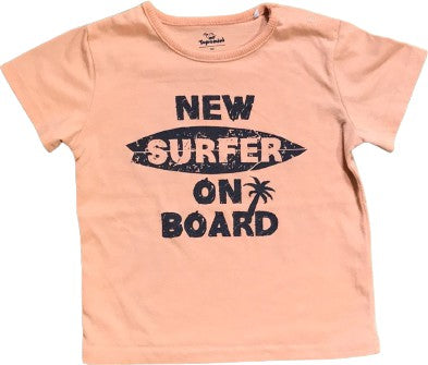 "Kurzarmshirt ""New surfer on board"""