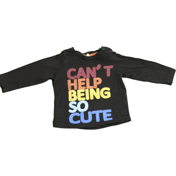 "Langarmshirt ""Can't help being so cute"" - Emily's Wunderlädchen 