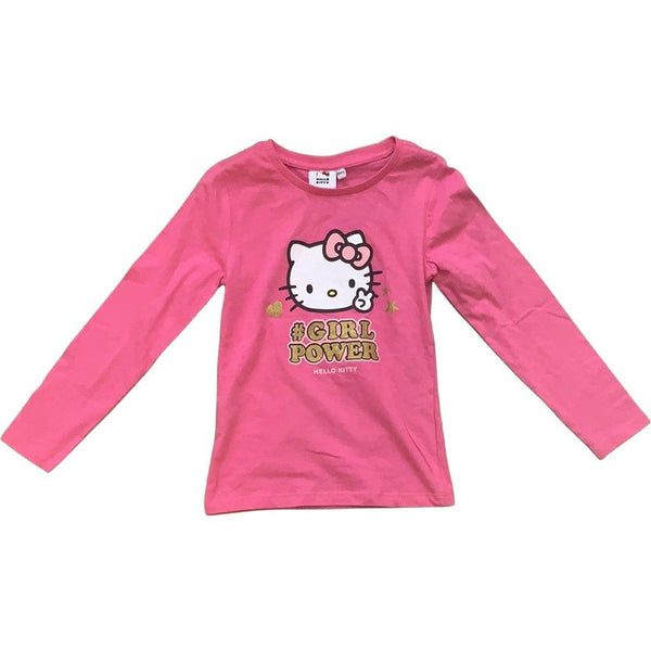 "NEU Langarmshirt ""Hello Kitty - # Girl Power"" - Emily's Wunderlädchen Baby- und Kindersecondhand"