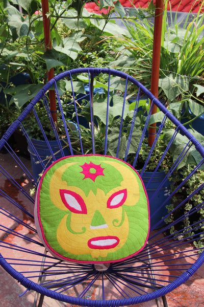 Lucha Libra Mask  All hand embroidered