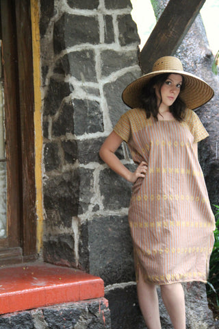 A traditional Heirloom piece!   A traditional San Juan huipil Kaftan