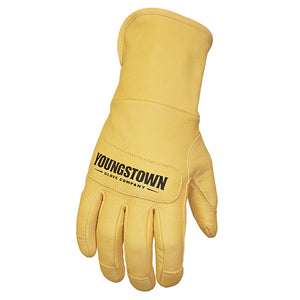 11-3245-60 Youngstown Leather Utility Plus Glove - Four inch Safety Cuff