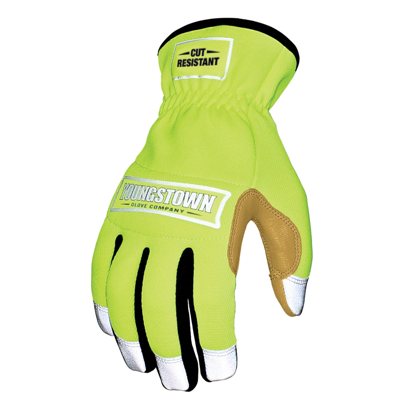 Cut Resistant Safety Lime Hybrid