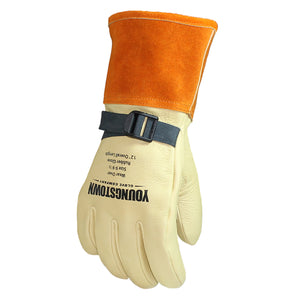 "Youngstown 12"" Primary Protector Leather Glove - FR Strap System"