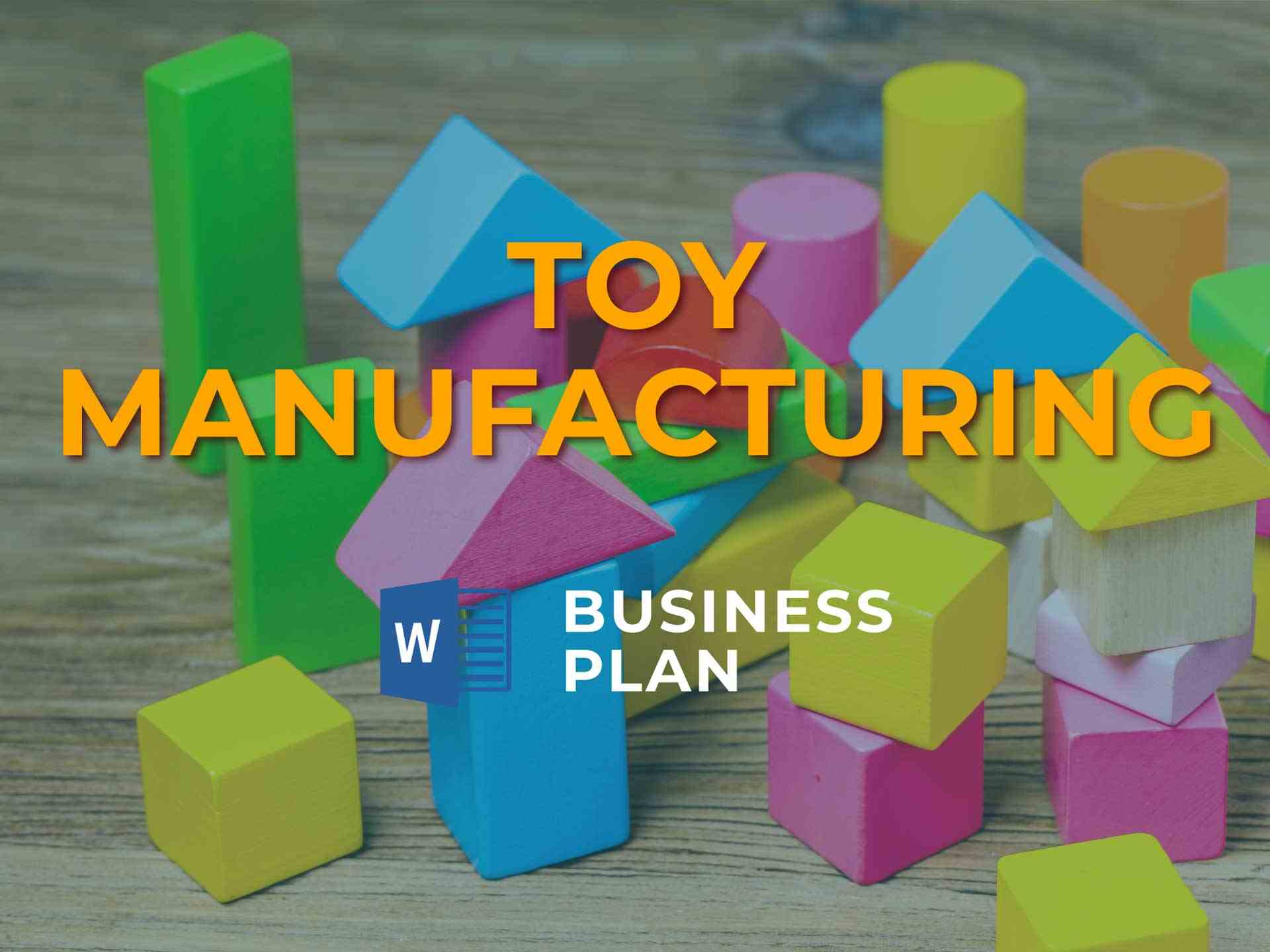Toy Manufacturing Bp 1920