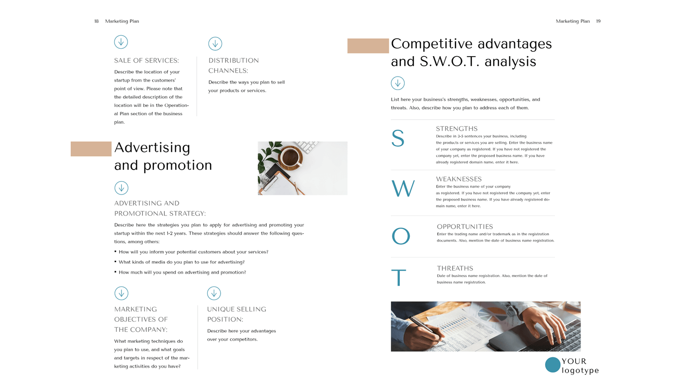 Content Marketing Agency Business Plan Template Word Marketing Plan B