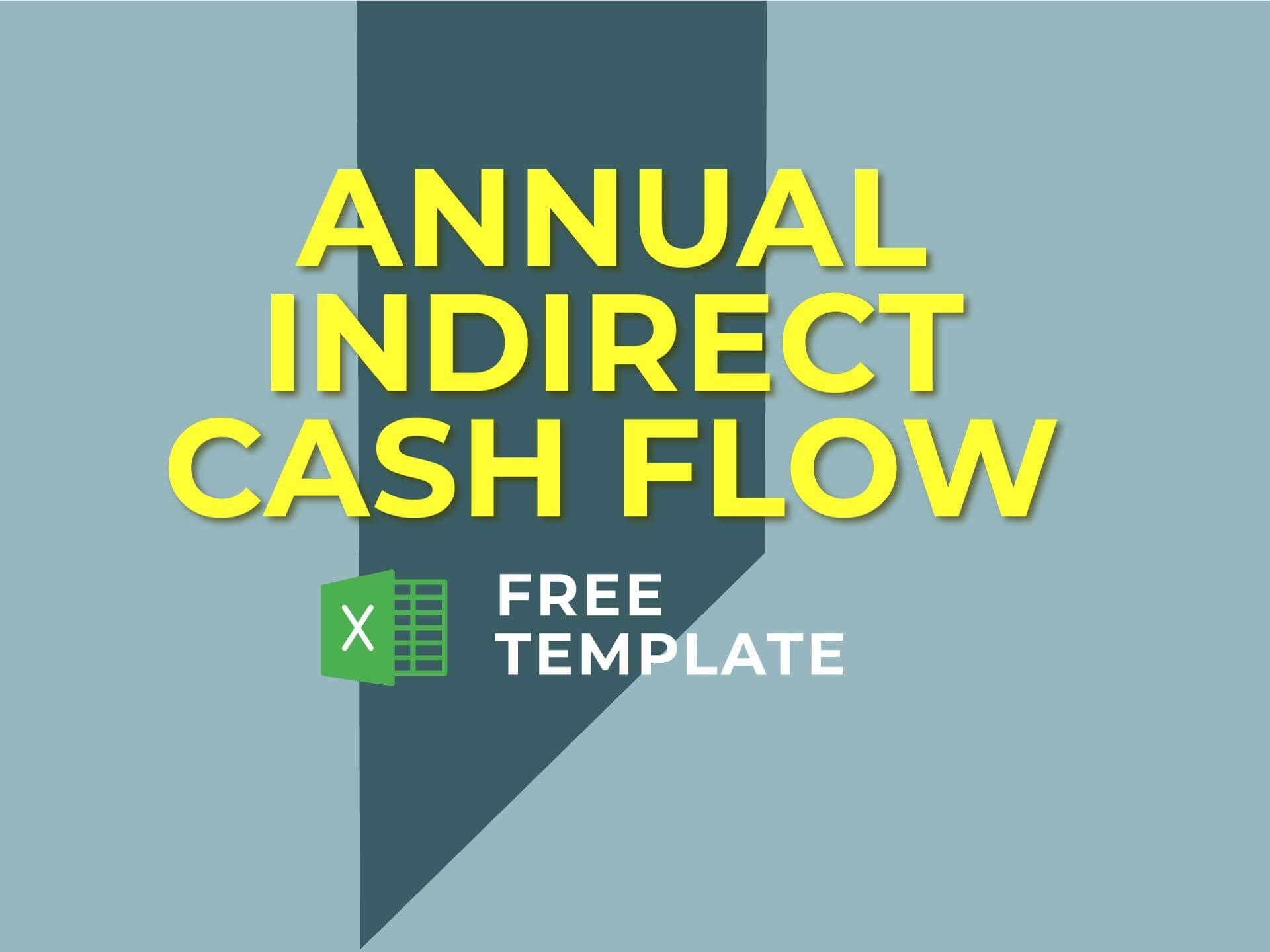 Annual Indirect Cash Flow Statement