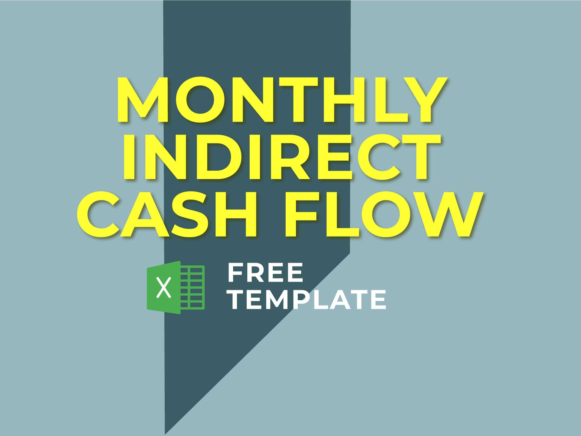 Monthly Indirect Cash Flow Statement