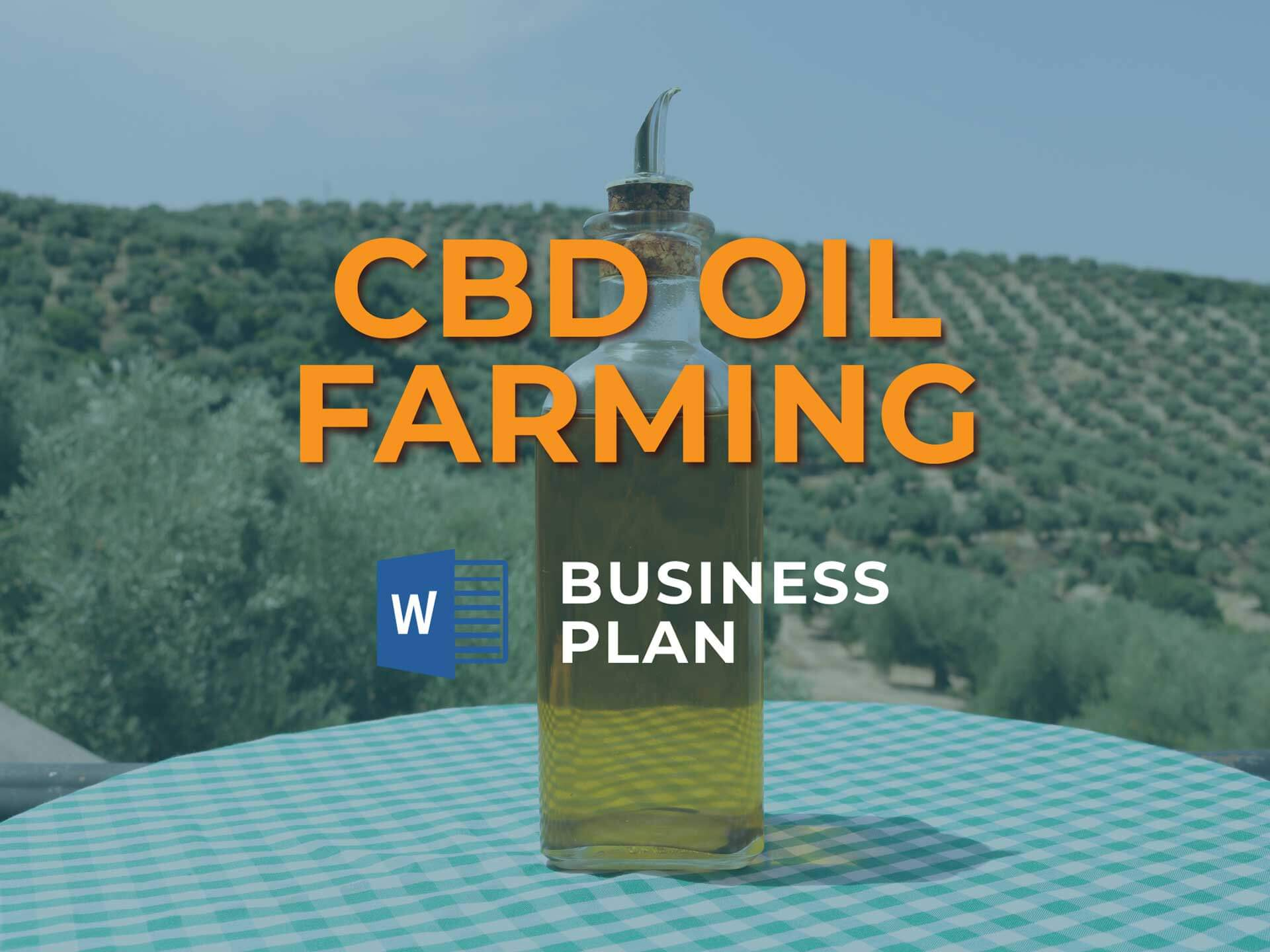 Cbd Oil Farming