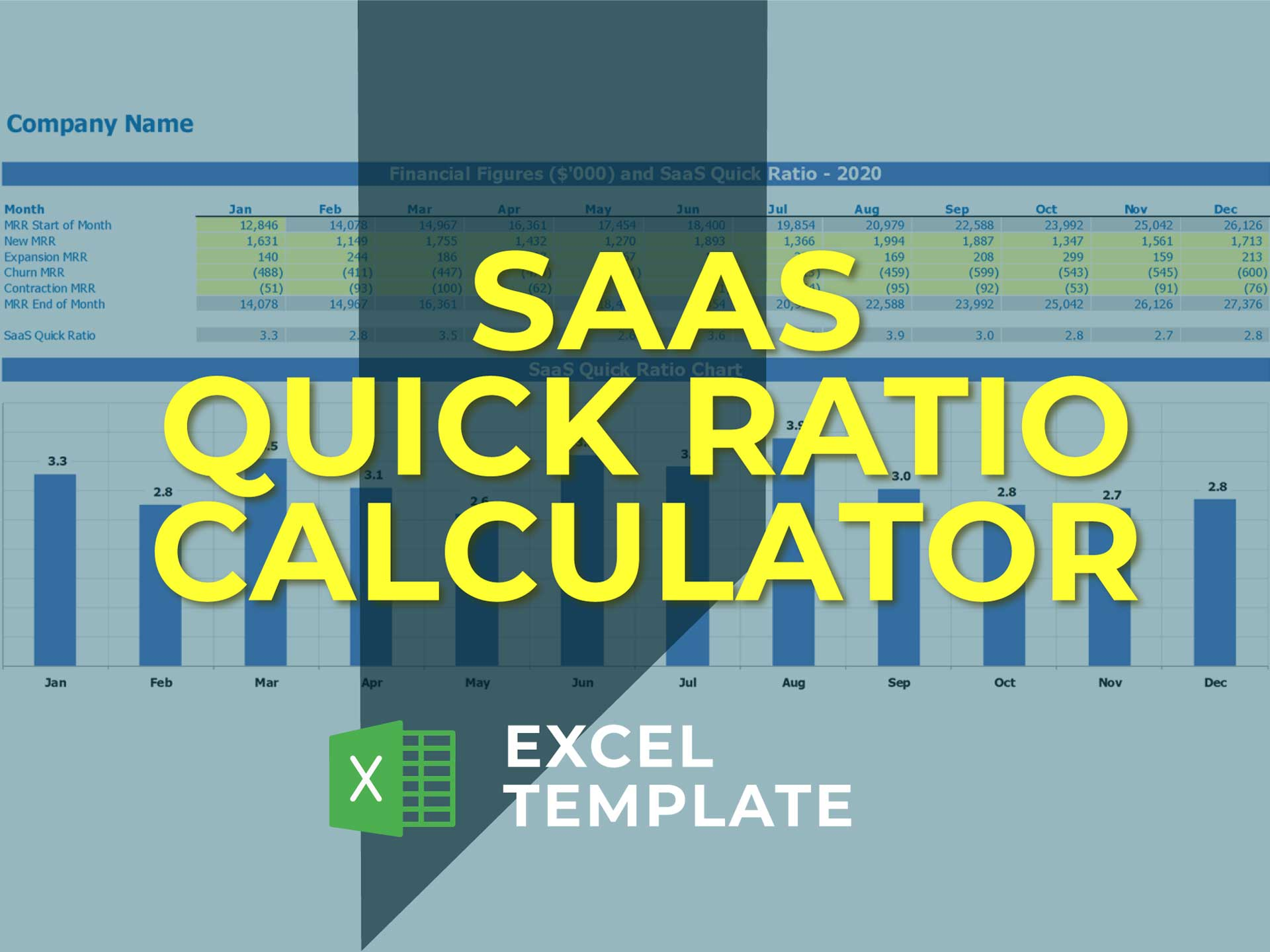 Saas Quick Ratio Calculator