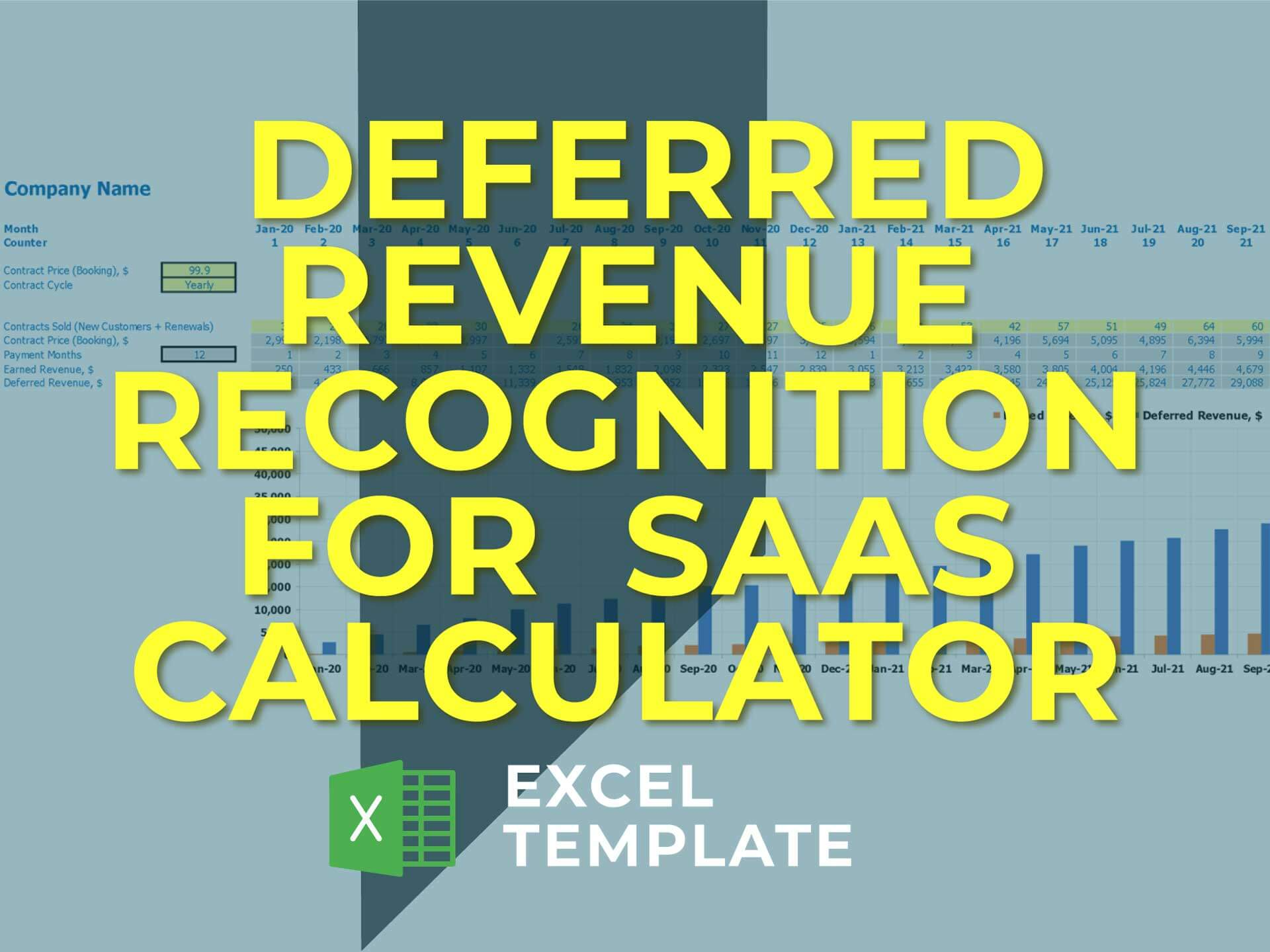 Deferred Revenue Recognition For Saas Calculator