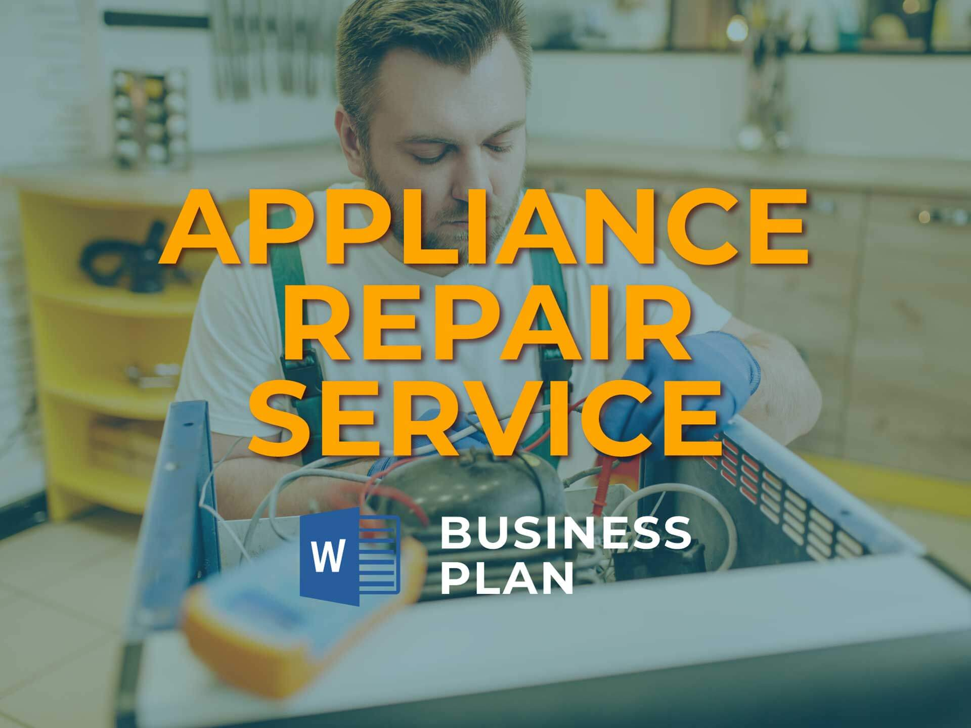 Appliance Repair Service Bp 1920