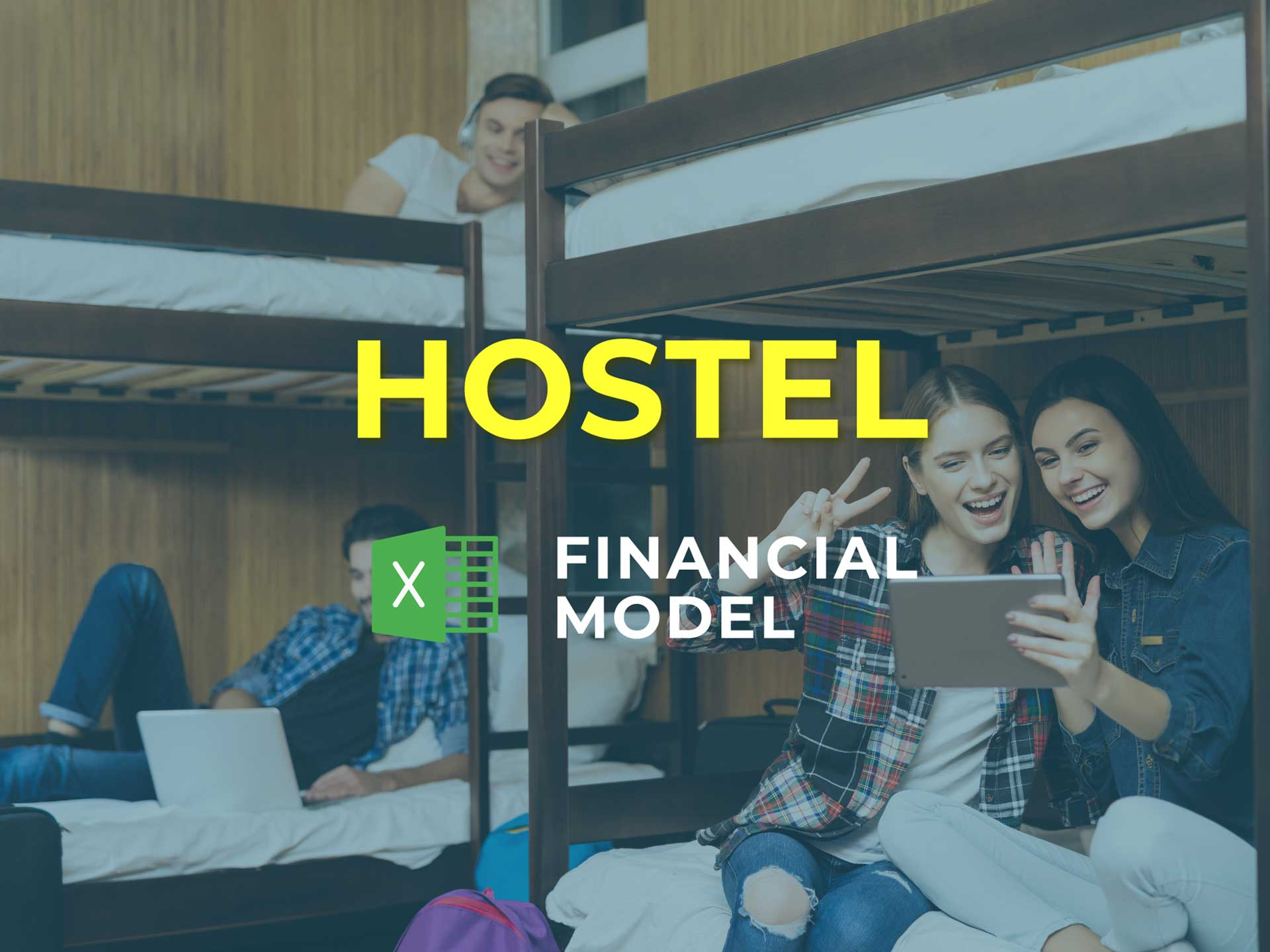 Hostel Financial Model Excel Template