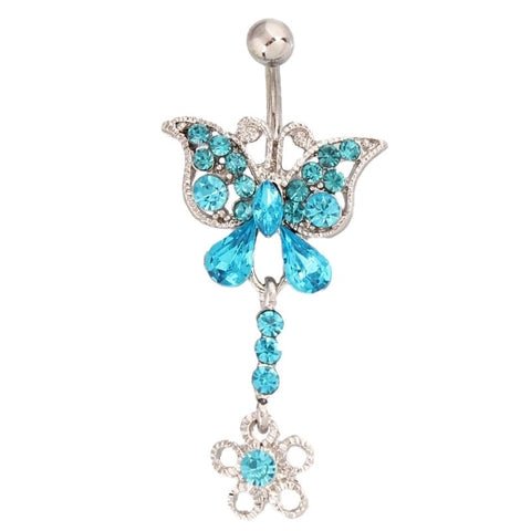 piercing papillon pour le nombril