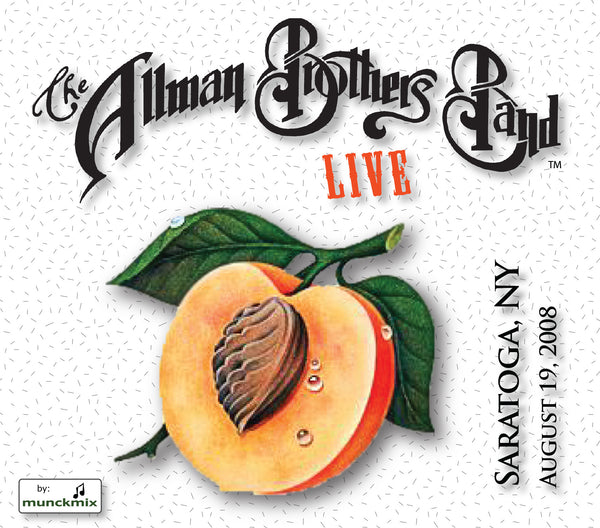 The Allman Brothers Band: 2008-08-19 Live at Saratoga Performing Arts Center, Saratoga Springs, NY, August 19, 2008