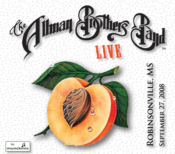 The Allman Brothers Band: 2008-09-27 Live at Horseshoe Casino, Robinsonville MS, September 27, 2008