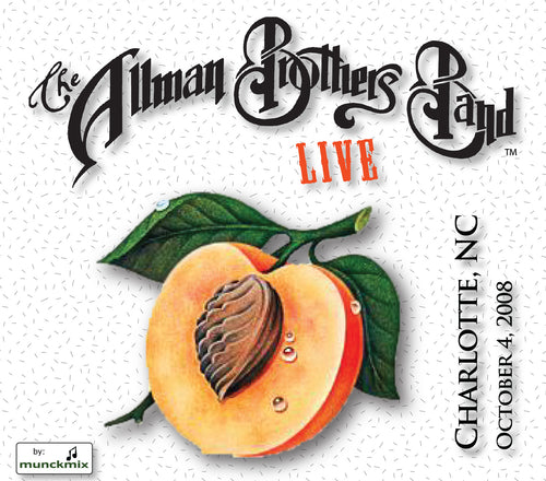 The Allman Brothers Band: 2008-10-04 Live at Verizon Wireless Amph., Charlotte, NC, October 04, 2008