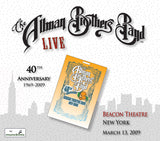 The Allman Brothers Band: 2009-03-13 Live at Beacon Theatre, New York, NY, March 13, 2009