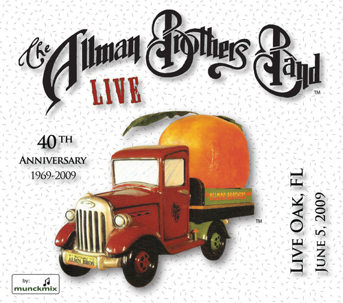 The Allman Brothers Band: 2009-06-05 Live at Wanee Music Festival, Live Oak, FL, June 05, 2009