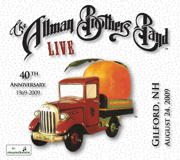 The Allman Brothers Band: 2009-08-24 Live at Meadowbrook Pavilion, Gilford, NH, August 24, 2009