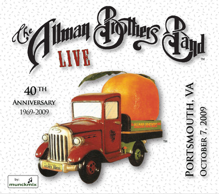 The Allman Brothers Band: 2009-08-27 Live at Jones Beach Theater, Wantagh, NY, August 27, 2009