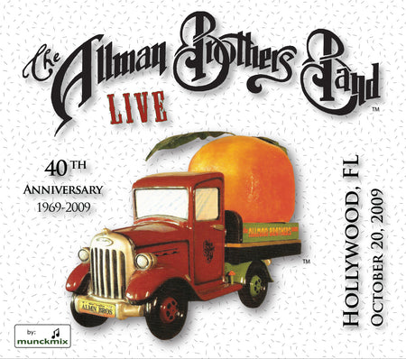 The Allman Brothers Band: 2009-08-29 Live at Comcast Center, Mansfield, MA, August 29, 2009