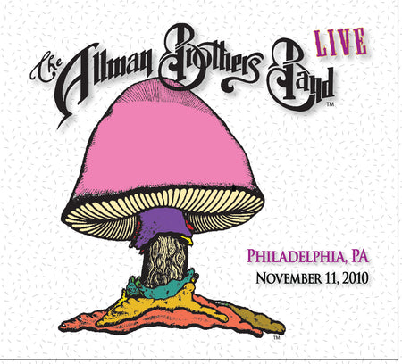 The Allman Brothers Band: 2010-11-19 Live at Orpheum Theatre, Boston, MA, November 19, 2010