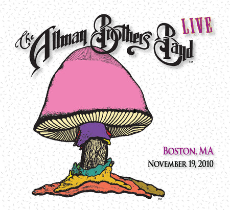 The Allman Brothers Band: 2010-11-18 Live at Orpheum Theatre, Boston, MA, November 18, 2010