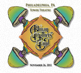 The Allman Brothers Band: 2011-11-26 Live at Tower Theatre, Philadelphia, PA, November 26, 2011