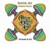 The Allman Brothers Band: 2011-11-30 Live at Orpheum Theatre, Boston, MA, November 30, 2011