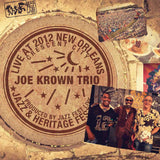 Joe Krown Trio - Live at 2012 New Orleans Jazz & Heritage Festival