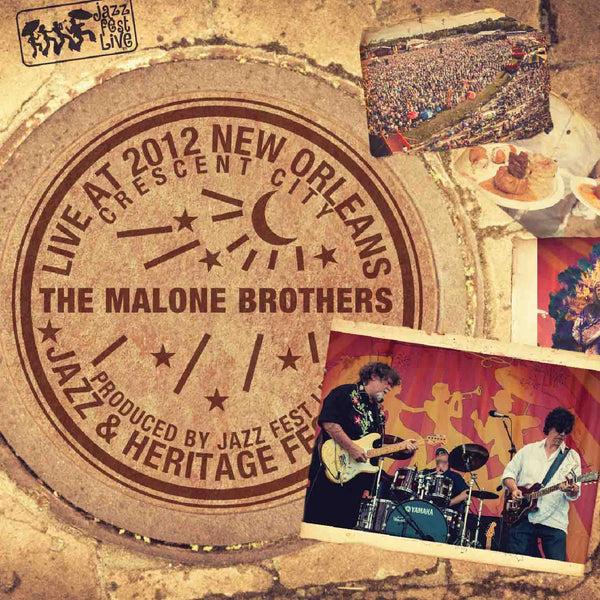 The Malone Brothers - Live at 2012 New Orleans Jazz & Heritage Festival