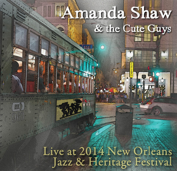 Amanda Shaw & the Cute Guys - Live at 2014 New Orleans Jazz & Heritage Festival