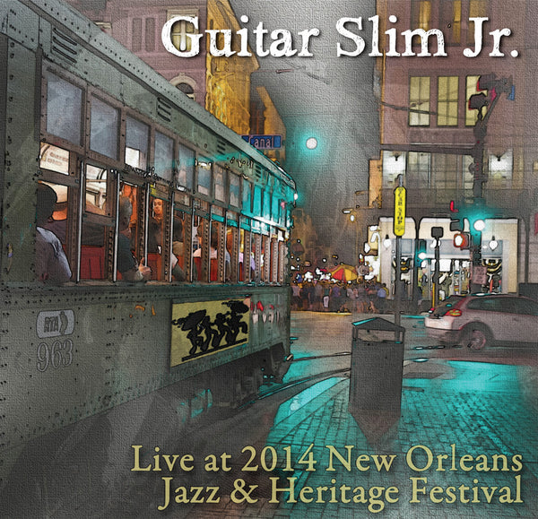 Guitar Slim Jr.  - Live at 2014 New Orleans Jazz & Heritage Festival